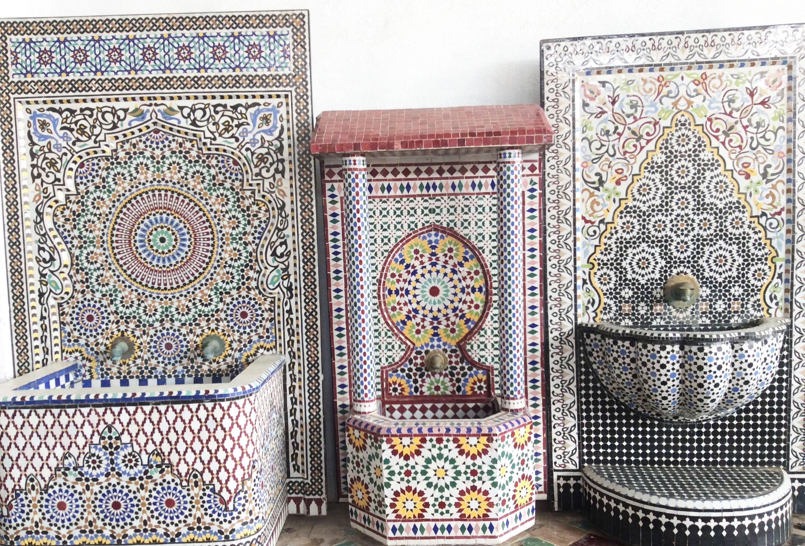 Fontane mosaico ceramica smaltata marmo gimarts for Mosaico ceramica